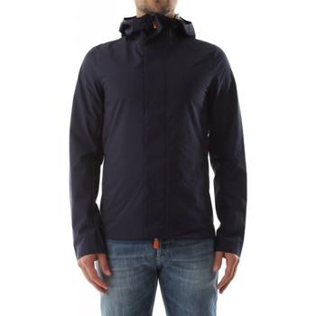 Abbigliamento Uomo Giacche Save The Duck D30069M DARK12 - CLIFFTON-90000 NAVY BLUE blu