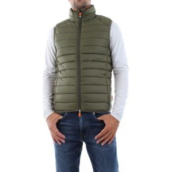 Abbigliamento Uomo Giacche Save The Duck D82410M GIGA13 - ADAM-50012 DUSTY OLIVE verde