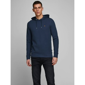 Abbigliamento Uomo Felpe Jack&Jones Essential 12166526 BLAHARDY-BLACK IRIS blu