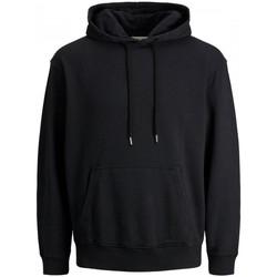 Abbigliamento Uomo Felpe Jack&Jones Essential 12174457 WASHED HDD-BLACK nero
