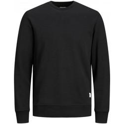 Abbigliamento Uomo Felpe Jack&Jones Essential 12181903 CREW NECK-BLACK nero