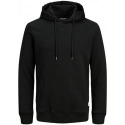 Abbigliamento Uomo Felpe Jack&Jones Essential 12182537 BASIC SWEAT HOOD-BLACK nero