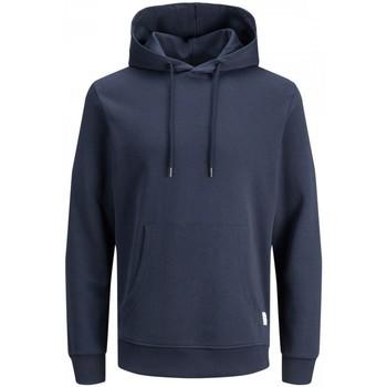 Abbigliamento Uomo Felpe Jack&Jones Essential 12182537 BASIC SWEAT HOOD-NAVY BLAZER blu