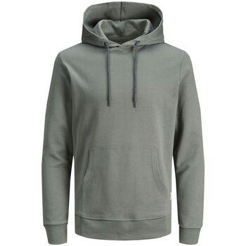 Abbigliamento Uomo Felpe Jack&Jones Essential 12182537 BASIC SWEAT HOOD-SEDONA SAGE grigio