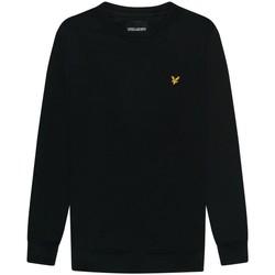 Abbigliamento Uomo Felpe Lyle & Scott ML424VOG Crew Neck Sweatshirt-Z86 JET BLACK nero