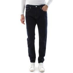Abbigliamento Uomo Jeans slim Calvin Klein Jeans K10K104359 SLIM FIT-911 LEWIS RINSE blu