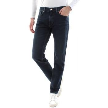 Abbigliamento Uomo Jeans dritti Calvin Klein Jeans K10K105113 SLIM FIT-1BK LONDON BLUE blu