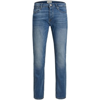 Abbigliamento Uomo Jeans slim Jack & Jones 12146866 TIM-BLUE DENIM blu