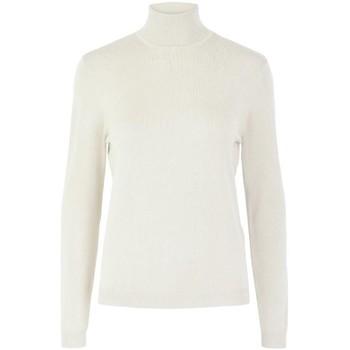 Abbigliamento Donna Maglioni Pieces 17106004 ESERA ROLLNECK-CLOUD DANCER beige