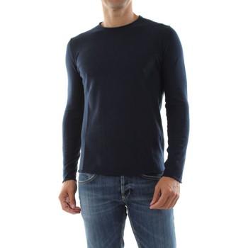 Abbigliamento Uomo Maglioni Bomboogie MM6457 T KTP-205 NIGHT BLUE blu