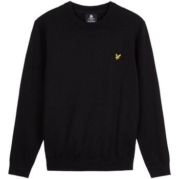 Abbigliamento Uomo Maglioni Lyle & Scott KN821V CREW NECK-Z866 JET BLACK nero