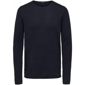 Abbigliamento Uomo Maglioni Selected 16062814 ROCKY-DARK SAPPHIRE blu