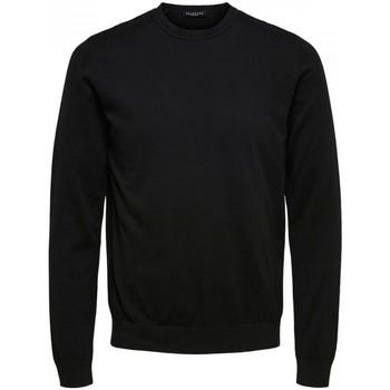 Abbigliamento Uomo Maglioni Selected 16074682 BERG-BLACK nero