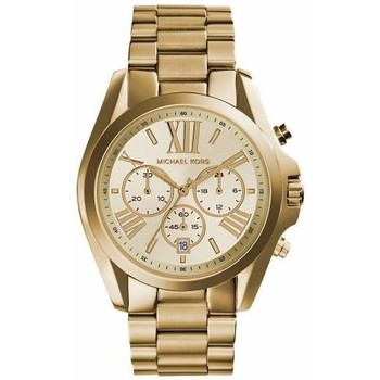 Orologi & Gioielli Donna Orologi e gioielli MICHAEL Michael Kors MK5605-BRADSHAW oro