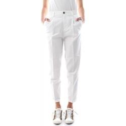 Abbigliamento Donna Pantaloni 40weft NEVE 6421/7160-40W441 BIANCO bianco