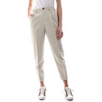 Abbigliamento Donna Pantaloni 40weft NEVE 6421/7160-W1725 ECRU bianco
