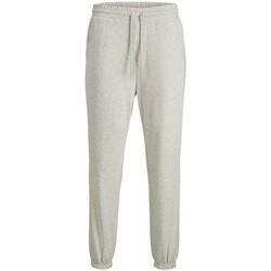 Abbigliamento Uomo Pantaloni da tuta Jack&Jones Essential 12187623 STKANE-WHITE MELANGE grigio