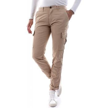 Abbigliamento Uomo Pantalone Cargo 40weft AIKO SS - 6009/7035-W2103 BEIGE beige