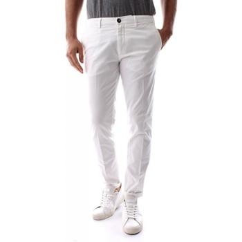 Abbigliamento Uomo Pantaloni 40weft BILLY SS - 5943/7041-40W441 WHITE bianco
