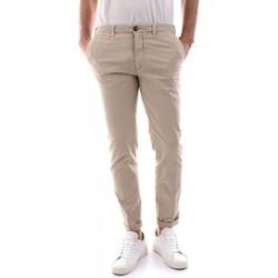 Abbigliamento Uomo Chino 40weft BILLY SS - 5943/7041-W2103 BEIGE beige