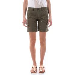 Abbigliamento Donna Shorts / Bermuda 40weft MAYA 5145-GW1922 ORIGANO verde