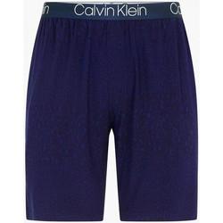 Abbigliamento Uomo Shorts / Bermuda Calvin Klein Jeans 000NM1660E SLEEP SHORT-UZZ ANIMAL BAYOU BLUE blu