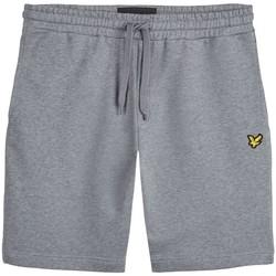Abbigliamento Uomo Shorts / Bermuda Lyle & Scott ML414VTR SWEAT SHORT-T28 MID GRAY MARL grigio