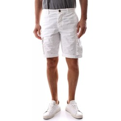 Abbigliamento Uomo Shorts / Bermuda 40weft NICK 6013-40W441 WHITE bianco