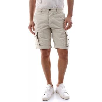 Abbigliamento Uomo Shorts / Bermuda 40weft NICK 6013-W1725 ECRU bianco