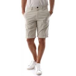 Abbigliamento Uomo Shorts / Bermuda 40weft SERGENTBE 6011/7031-W1725 ECRU bianco