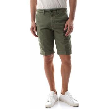 Abbigliamento Uomo Shorts / Bermuda 40weft SERGENTBE 6011/7031-W1765 VERDE LICHENE verde