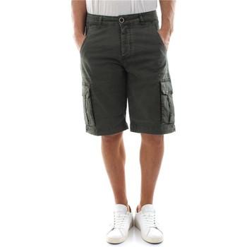 Abbigliamento Uomo Shorts / Bermuda Bomboogie BMFATH T GBT-395 DEEP GREEN verde