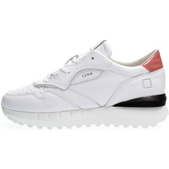 Scarpe Donna Sneakers basse Date W341-LN-CS-WP-WHITE/PINK bianco