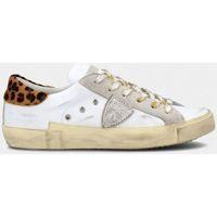Scarpe Donna Sneakers basse Philippe Model PRLD VL03 PARIS-VEAU LEO - BLANC bianco