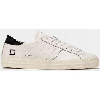 Scarpe Uomo Sneakers basse Date M351-HL-VC-WB HILL LOW VINTAGE-WHITE/BLACK bianco