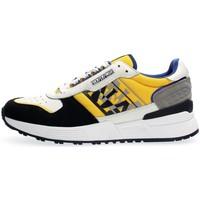 Scarpe Uomo Sneakers basse Napapijri Footwear NA4FJW SPARROW-Y1B WHITE/YELLOW/NAVY bianco