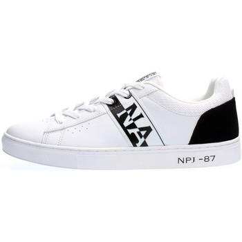 Scarpe Uomo Sneakers basse Napapijri Footwear NP0A4FWA S1BIRCH-0I0 WHITE BLACK bianco