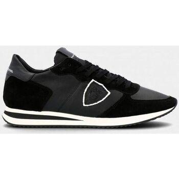Scarpe Uomo Sneakers basse Philippe Model TZLU 6004 TROPEZ-NOIR nero