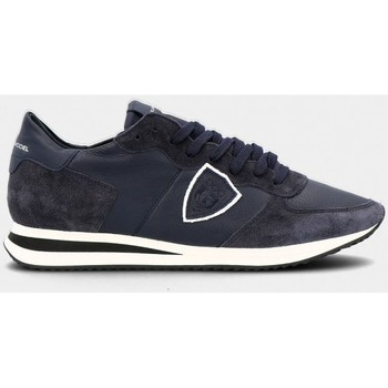 Scarpe Uomo Sneakers basse Philippe Model TZLU 6005 TROPEZ-BLEU blu
