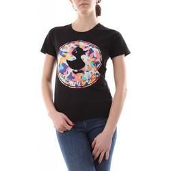 Abbigliamento Donna T-shirt & Polo Save The Duck DT0152W JESY12 - ISABELLA-20155 BLACK nero