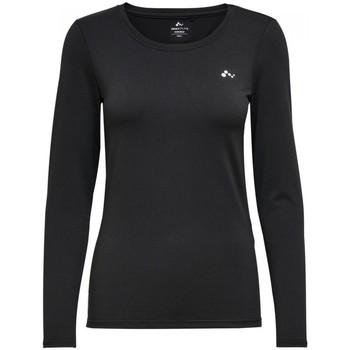 Abbigliamento Donna T-shirts a maniche lunghe Only Play 15135149 CLARISA-BLACK nero
