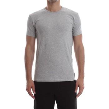 Abbigliamento Uomo T-shirt & Polo Calvin Klein Jeans 000NB1164E S/S CREW NECK-080 GREY HEATHER grigio