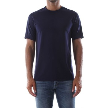 Abbigliamento Uomo T-shirt & Polo Calvin Klein Jeans 00GMS8K145 SS TEE-469 EVENING BLUE blu