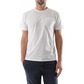Abbigliamento Uomo T-shirt & Polo Bomboogie TM7003 T JORG-01 OFF WHITE bianco