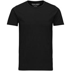 Abbigliamento Uomo T-shirt maniche corte Jack&Jones Essential 12058529 BASIC TEE-BLACK nero