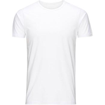Abbigliamento Uomo T-shirt maniche corte Jack&Jones Essential 12058529 BASIC TEE-OPTICAL WHITE bianco