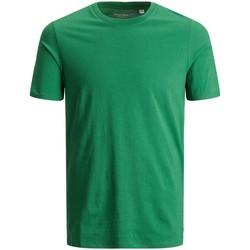 Abbigliamento Uomo T-shirt maniche corte Jack&Jones Essential 12156101 BASIC TEE-VERDANT GREEN verde