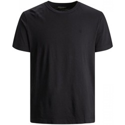 Abbigliamento Uomo T-shirt maniche corte Jack&Jones Essential 12175520 WASHED TEE-BLACK nero