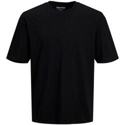 Abbigliamento Uomo T-shirt maniche corte Jack&Jones Essential 12185628 BRINK TEE-BLACK nero