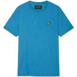 Abbigliamento Uomo T-shirt maniche corte Lyle & Scott TS400VOG PLAIN T-SHIRT-W47 YALE BLUE blu
